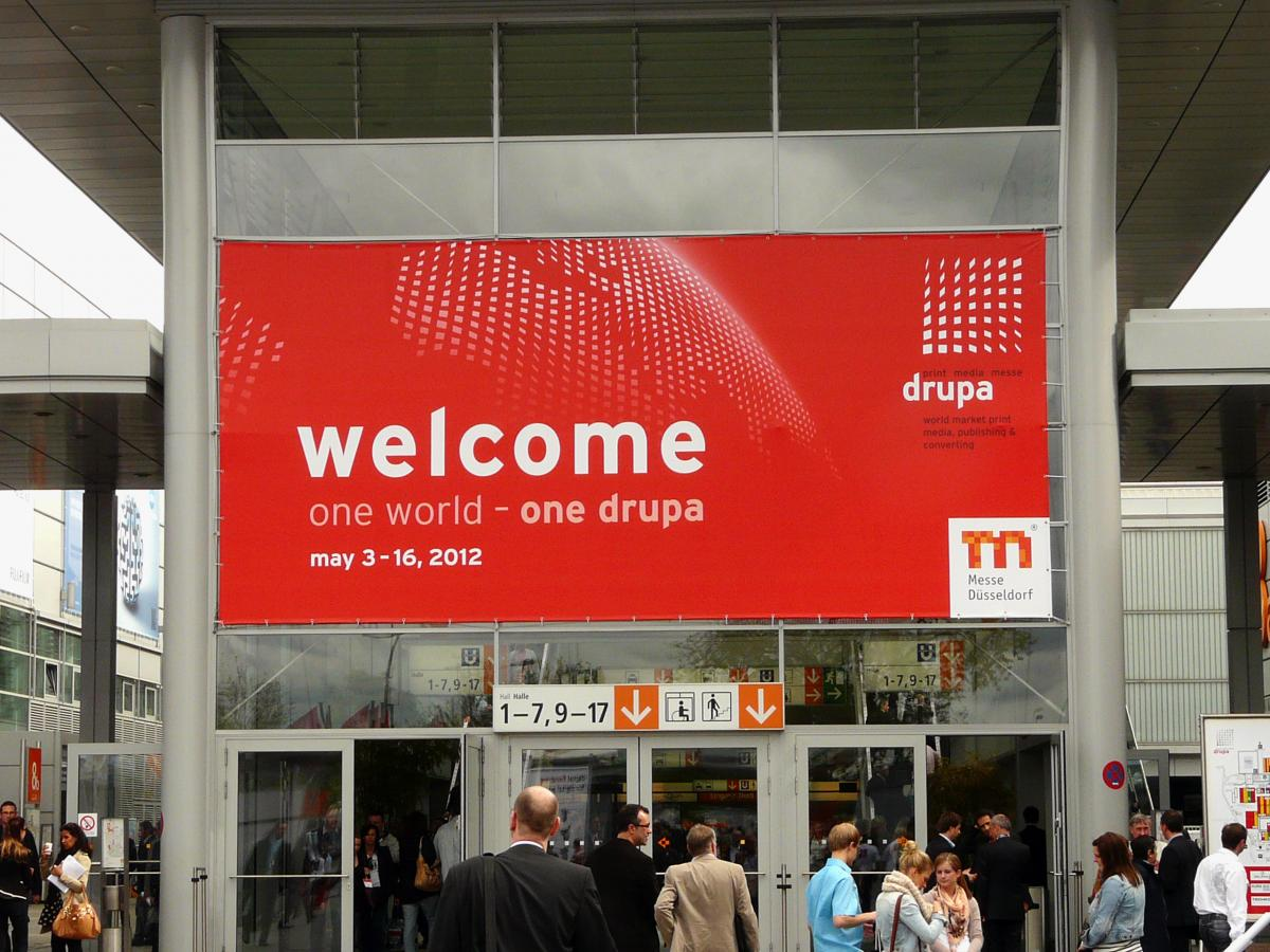 Welcome to Drupa 2012